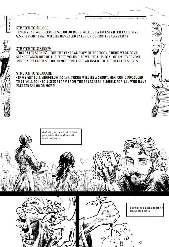 The Searcher: Volume 1 by B L  Dwyer — Kickstarter