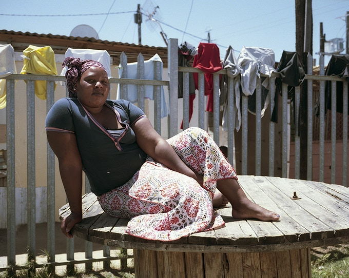 The girl # 2, Dunoon, Cape town, 2014