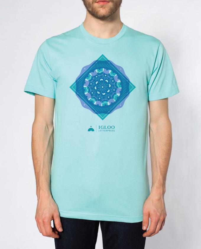 Igloo Letterpress T-Shirt