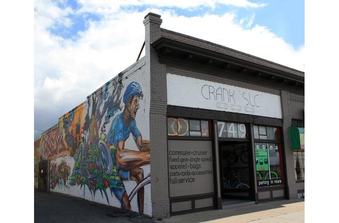 our bike shop in Salt Lake City