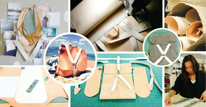 Bits of our design process from inspiration to prototypes to making and product testing.