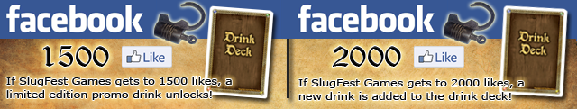 Click to Like us on the SlugFest Games Facebook Page!