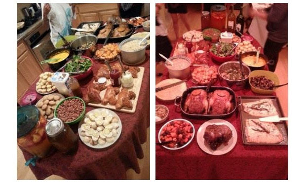 All the food from last year!