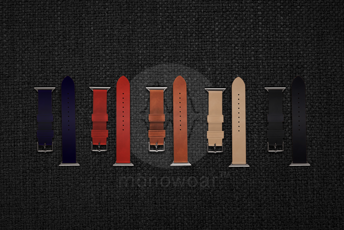 Genuine leather bands for a casual night out, in multiple colors