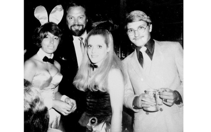 18th Birthday, Stevie and Bob Moore entertaining the Bunnies