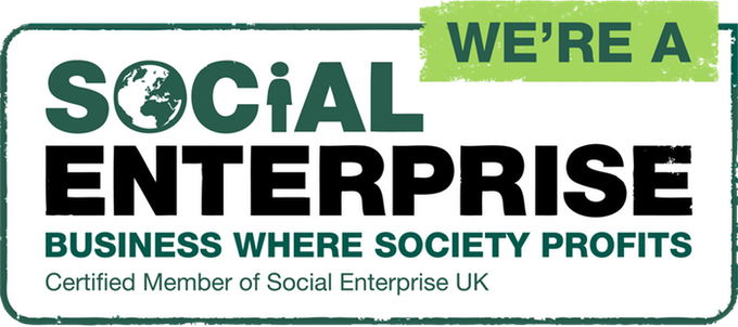 We are proud members of Social Enterprise UK. We make money from selling coffee in the open market, but we reinvest our profits back into the business & the local community, so when we profit, society profits.
