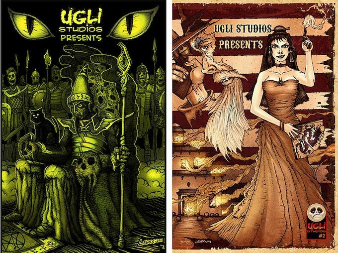 Covers: UGLI Studios Presents 1 and 2