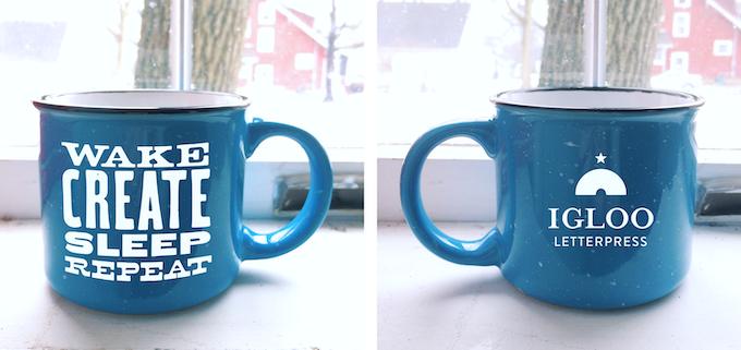 Ceramic Igloo Coffee Mug