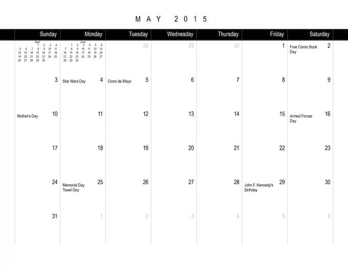 2016 Gaming Calendar by Scott King — Kickstarter