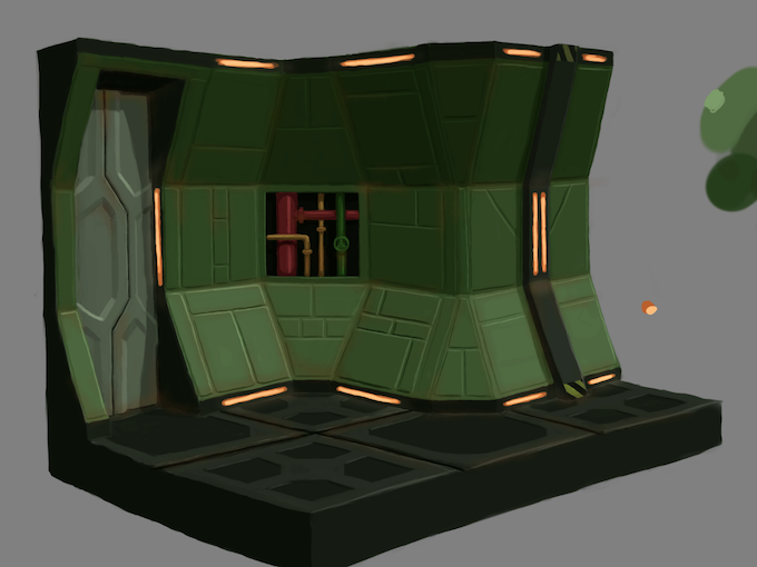 A planned science fiction tileset.