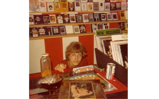 It's 1972. Stevie's hiding in a record store. Oh sweet adolescence!