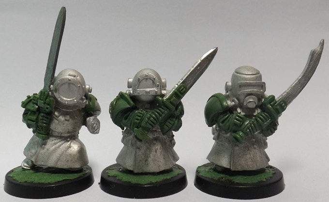 Green/Metal Unique Sculpts