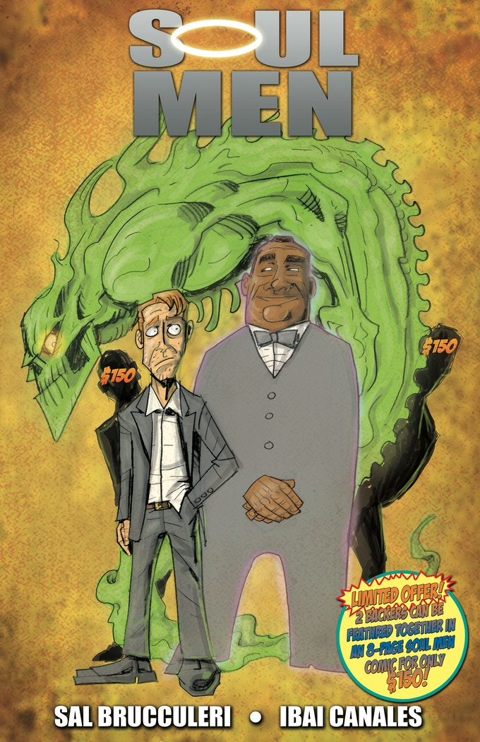 SOUL MEN 8-PAGE COMIC FEATURING 2 BACKERS!