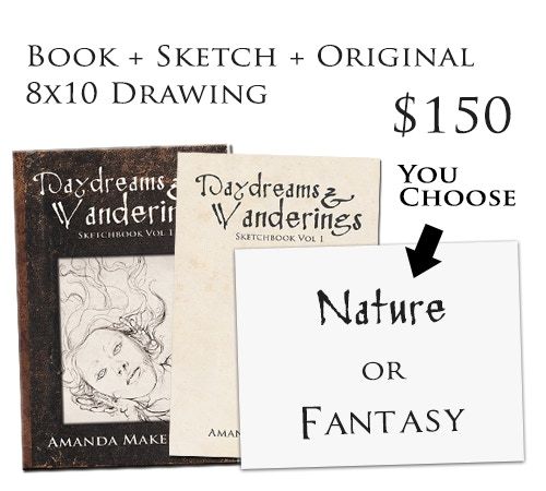 You choose the theme of your original drawing!