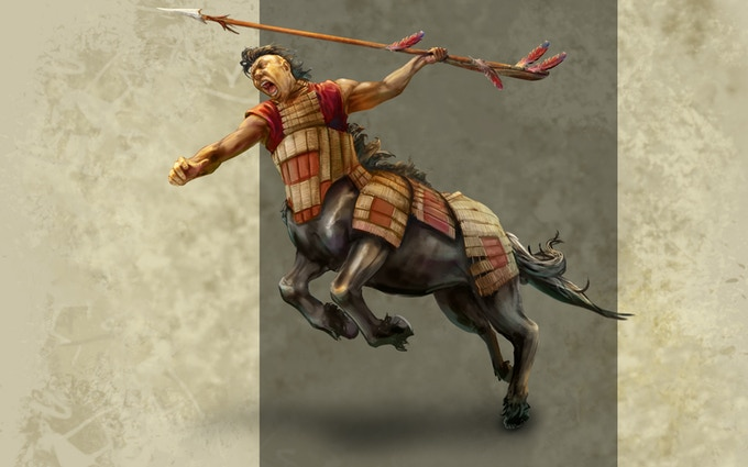 : Nomadic centaurs are native to The Golden Sea, a huge plain region named for the yellow, waving grasses that cover it.