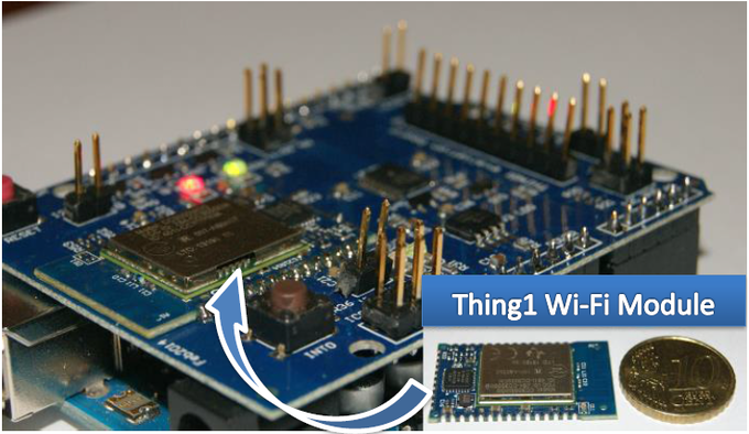 Thing1 Wi-Fi Arduino Shield & Thing1 Wi-Fi Module