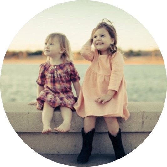 Elle + Avery. These girls are my heart.