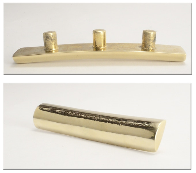 Slide attachement with slight curve or radius to fit most guitars, not for classical guitars