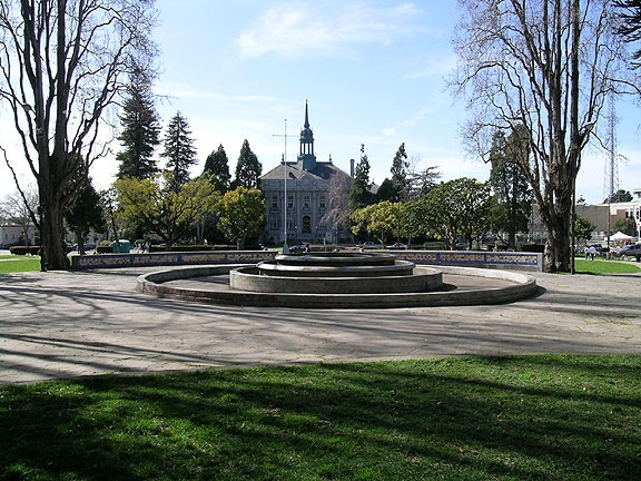MLK Civic Center Park is right in the middle of Berkeley, and smack-dab in the middle of the Bay Area Book Festival—where Lacuna will debut.