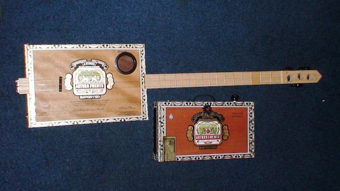 Brown Beauty Cigar Box Guitar