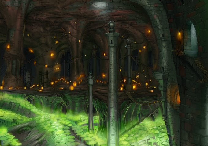This is the gold dwarven city of Hillhome.