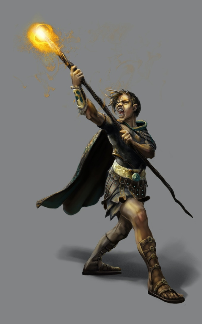 Mages are our most common spell casters. Wizards in this game are much more advanced and are extremely rare.