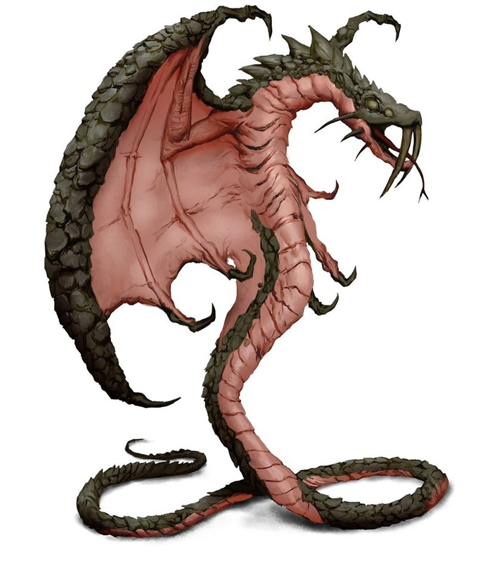 This is a stonebinder. They are magical subterranean serpents enhanced with the magic of earth.