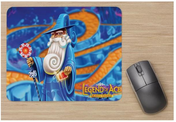 Legend of Ace Mouse Pad - $29