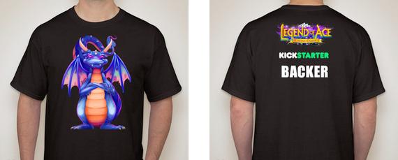 Men's Kickstarter Backer T-Shirt - $54