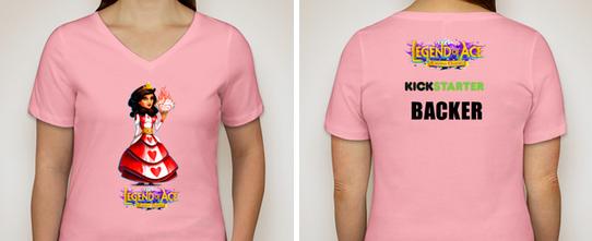 Women's Kickstarter Backer T-shirt - $60