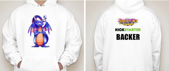 Kickstarter Backer Hoodie - $67