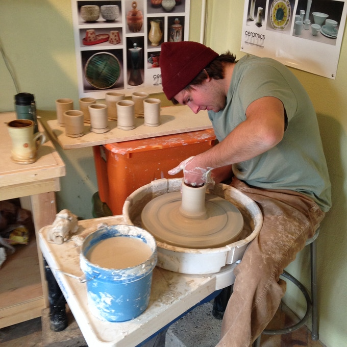 Ian Connors rocking the pots!