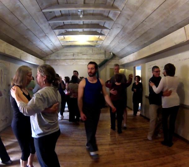 Salsa, Tango or Swing class with Travis Webb