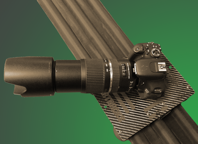 AirTracks Carbon can even support this monster of a lens !!