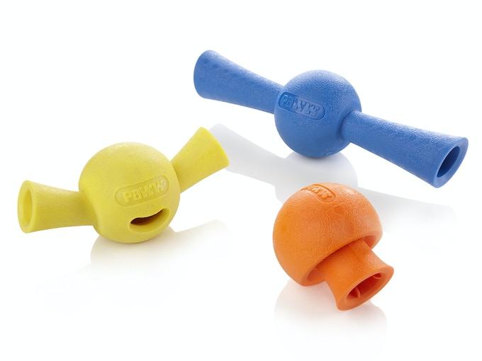 The Paww balls - GoofBall, PortoBallo, and StickBall