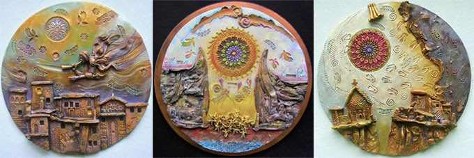 Some Examples of Gary Wilson's Wall Sculptures