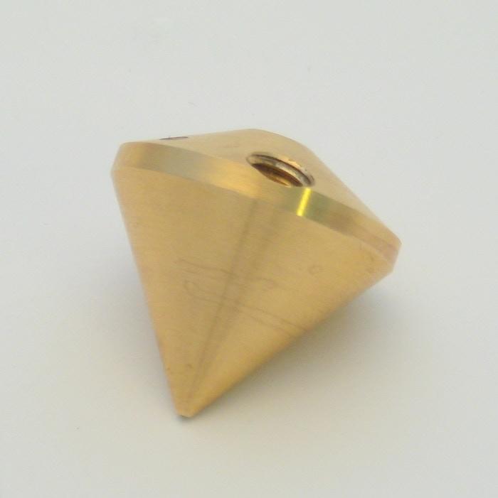 The diamond shaped nozzle