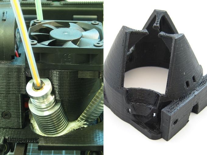 The bq Witbox and bq Prusa i3 mounting brackets