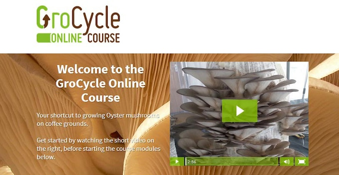 Homepage From GroCycle Online Course