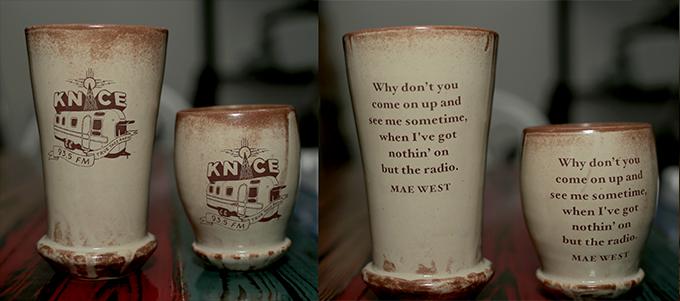 Custom handmade KNCE mugs and cups by Mandy Stapleford