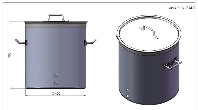 20 gallon Heavy Kettler original diagram 11/15/2014
