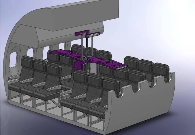 Germfalcon CAD Engineering Drawing