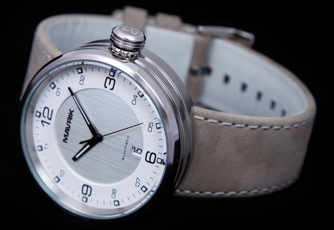 Reference Model 2E on Suede Leather Band