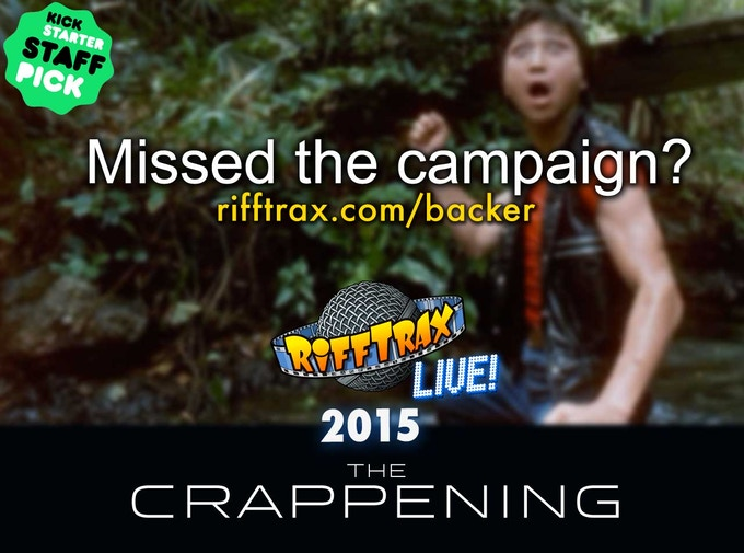 Check back often for updates to THE CRAPPENING!