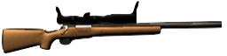 Preliminary sighted rifle.