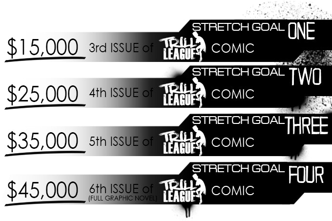 Trill League Comic by Anthony Piper — Kickstarter