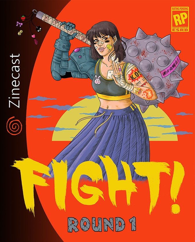 Cover for FIGHT! Round 1
