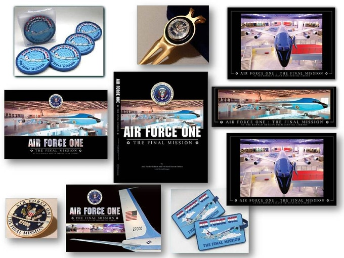 A few of the Air Force One rewards you will receive when we're funded!