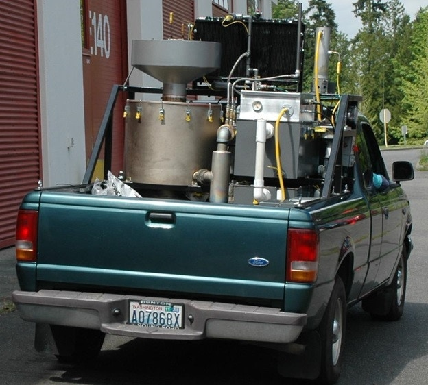 The Green Dragon gasifier