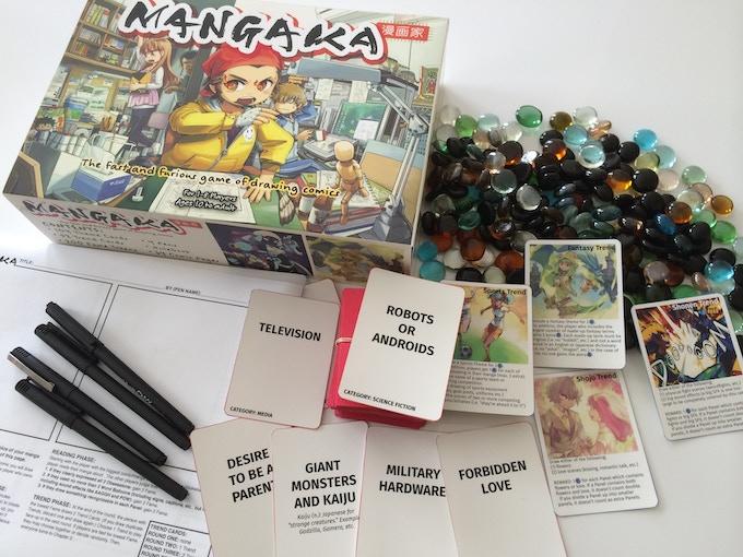 Mangaka Box & Components (prototype)